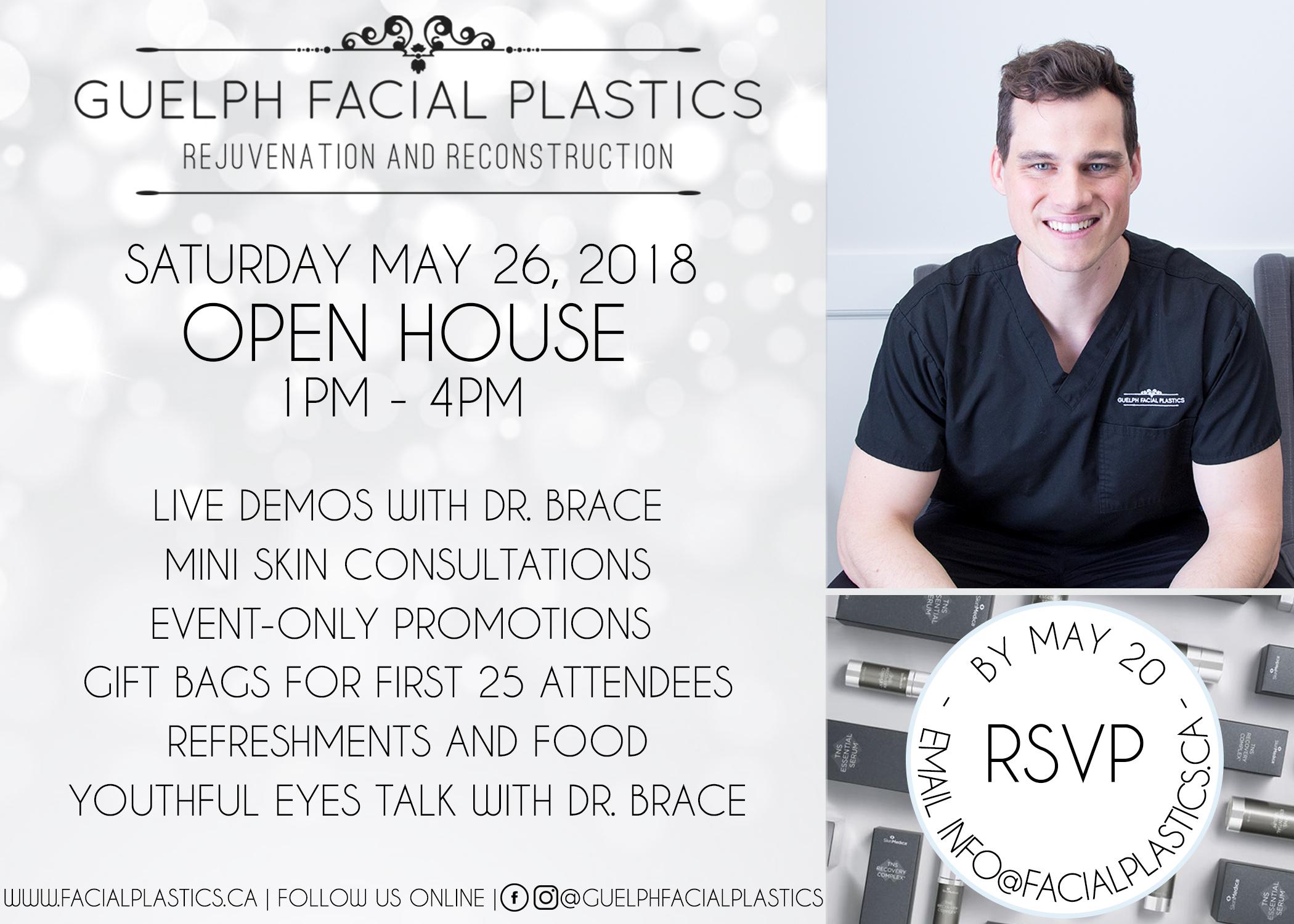 Guelph Facial Plastics Open House May 2018