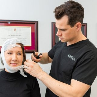 """Experts are predicting that 2021 will be the year of the neck!  With non-stop video calls and way more time spent on-line, camera angles and using a camera to communicate is making people increasingly aware of the appearance of their neck.  Here are Dr. Brace's top recommendations for the following concerns of the neck: """"Tech Neck"""" lines - @vivierskin GrenzCine Neck   Mild lower-face laxity/fullness - Profound RF Skin Tightening  Excess fat/fullness - submental liposuction and/or submentoplasty  Moderate wattle and/or bands - submentoplasty or neck lift  Questions? Comment below! _____________________________ 📞 519-824-0550 🌐 facialplastics.ca 📍 690 Woolwich St. Suite 2 Guelph, ON 👤 Facebook: Guelph Facial Plastics . . . @syneroncandela @candelamedicalcanada @candelamedical #necklift #skintightening #neck #face #facelift #jowls #turkeyneck #doublechinremoval #doublechin #skinrejuvenation #skincare #skincaretips #facialplasticsurgeon #facialplasticsurgery #facialplastics #expert #expertadvice #asktheexpert #tuesday #guelph #guelphdoctor #milton #torontolife #toronto #guelphfacialplastics #giveaway #chin #chinfiller #facialskincare #rejuvenation"""