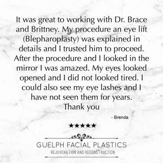 Before opening our clinic we didn't realize how important reviews are for independant businesses!  In terms of helping people find us on the world wide web and helping them when deciding to book a consult and/or procedure, reviews are priceless! We really are so grateful to our patients who take the time to write us a review and share their experience with others.   Have you had a positive experience with GFP? We would LOVE it if you took the time to leave us a review on Google or RealSelf. _____________________________ 📞 519-824-0550 🌐 facialplastics.ca 📍 690 Woolwich St. Suite 2 Guelph, ON 👤 Facebook: Guelph Facial Plastics . . . #blepharoplasty #eyelidsurgery #eyelidlift #facialplasticsurgeons #facialplasticsurgeon #facialplasticsurgery #guelphfacialplastics #guelph #kitchener #mississauga #milton #beforeandafter #browlift #facialplastics #skinpinch  #guelphdoctor #facialsurgeon #facialsurgery #guelph #guelphlove #guelphlife #local #localsurgeon #localdoctor #skinexpert #skinexperts #skincare #healthyskin #review #reviews #reviewskincare